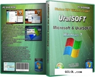Windows 7 x86 ultimate uralsoft v.11.10 (fixed)