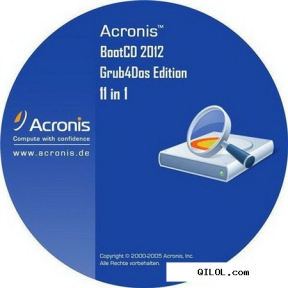Acronis BootCD Collection 2012 Grub4Dos Edition 11 in 1 v.6 (12.2012)