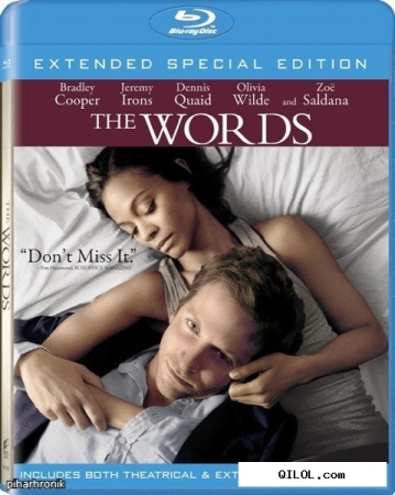Слова / The Words [EXTENDED] (2012/HDRip/700MB/1.36GB/2.05GB) - ЛИЦЕНЗИЯ
