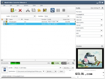 Xilisoft Video Converter Ultimate v6.6.0 build 0623 Portable