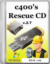 c400s Rescue CD v.2.7 (2012/RUS/ENG)