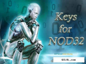 Ключи для NOD32 Antivirus, Eset Smart Security 2, 3, 4 от 02.02.2012