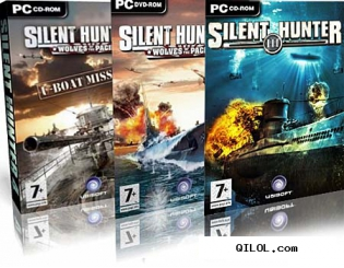 Silent Hunter 4-2in1(Волки Тихого океана+ Wolves Of The Pacific Uboat Missi ...